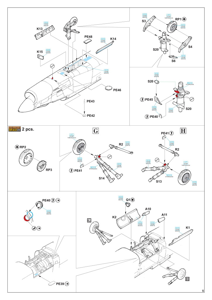 Eduard_F-8_Crusader_48 F-8 Crusader - Eduard Limited Edition 1/48  ---  #11110