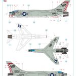 Eduard_F-8_Crusader_56-150x150 F-8 Crusader - Eduard Limited Edition 1/48  ---  #11110