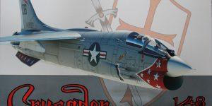 Zubehör für die F-8 Crusader von Eduard 1/48