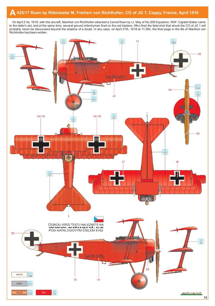 Eduard_Fokker_Dr.1_Profi2017_25 Fokker Dr.1 - Eduard Profi Edition 1/48  ---  #8162