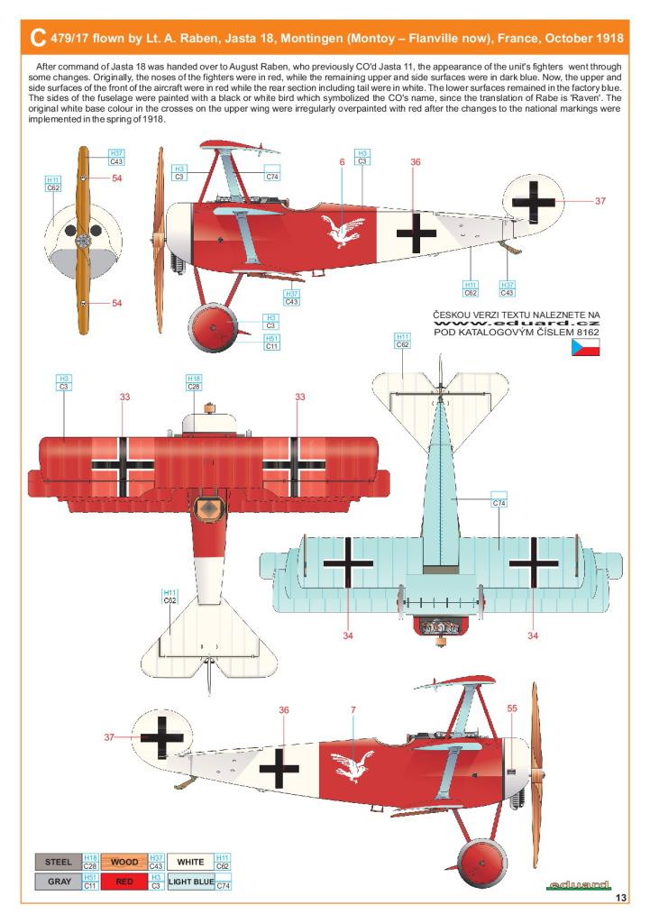 Eduard_Fokker_Dr.1_Profi2017_27 Fokker Dr.1 - Eduard Profi Edition 1/48  ---  #8162