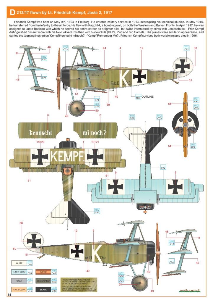 Eduard_Fokker_Dr.1_Profi2017_28 Fokker Dr.1 - Eduard Profi Edition 1/48  ---  #8162