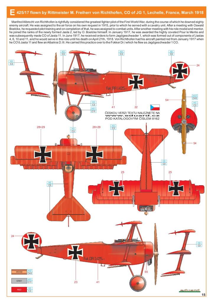 Eduard_Fokker_Dr.1_Profi2017_29 Fokker Dr.1 - Eduard Profi Edition 1/48  ---  #8162
