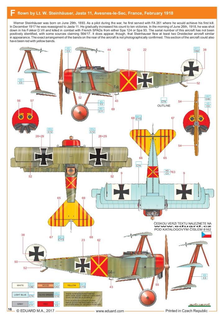 Eduard_Fokker_Dr.1_Profi2017_30 Fokker Dr.1 - Eduard Profi Edition 1/48  ---  #8162