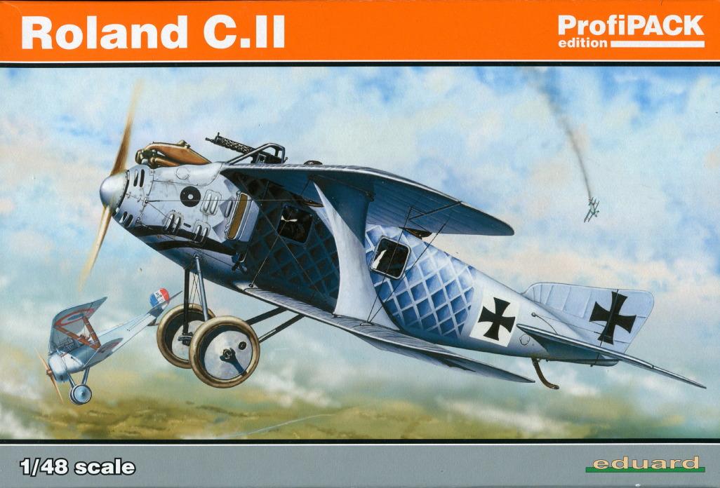 Eduard_Roland_C.II_Profi2017_01 Roland C.II - Eduard Profi Edition 1/48  ---  #8043