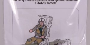 US NAVY Pilot & Operator w. ejection seats for F-14A/B – aerobonus 1/48