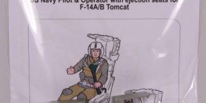 US NAVY Pilot & Operator w. ejection seats for F-14A/B – aerobonus 1/48