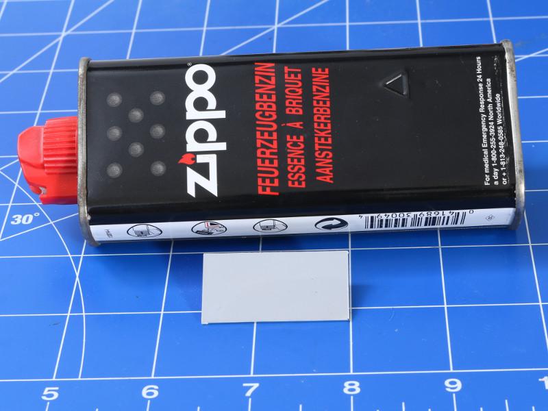 Feuerzeugbenzin Neuer Farbhersteller aus USA - Mission Models