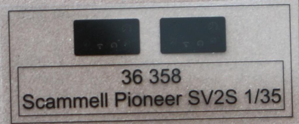 Film Scammell Pioneer SV2S for IBG Kit 1:35 Eduard (#36358)
