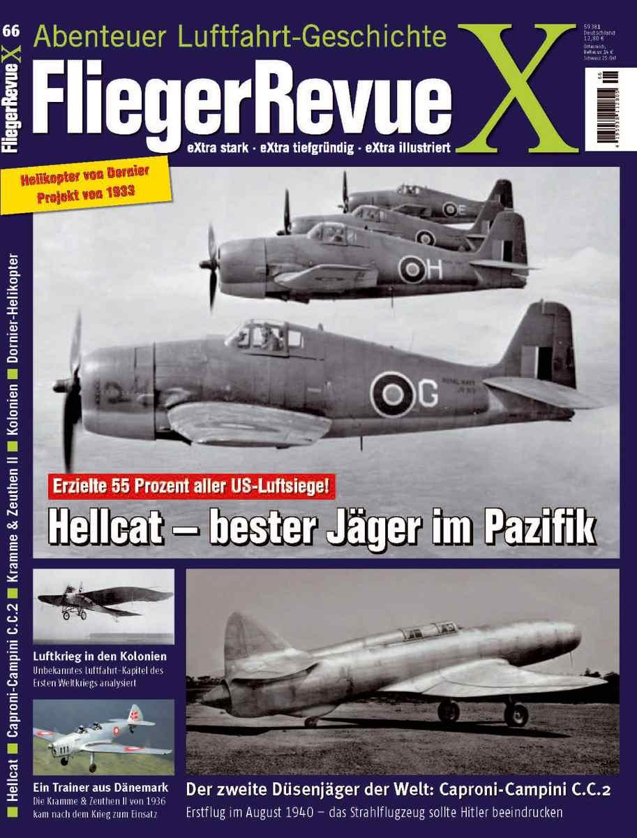 FliegerRevueX-Nr.-66-Titelblatt Für euch gelesen: FliegerRevue X Nr. 66