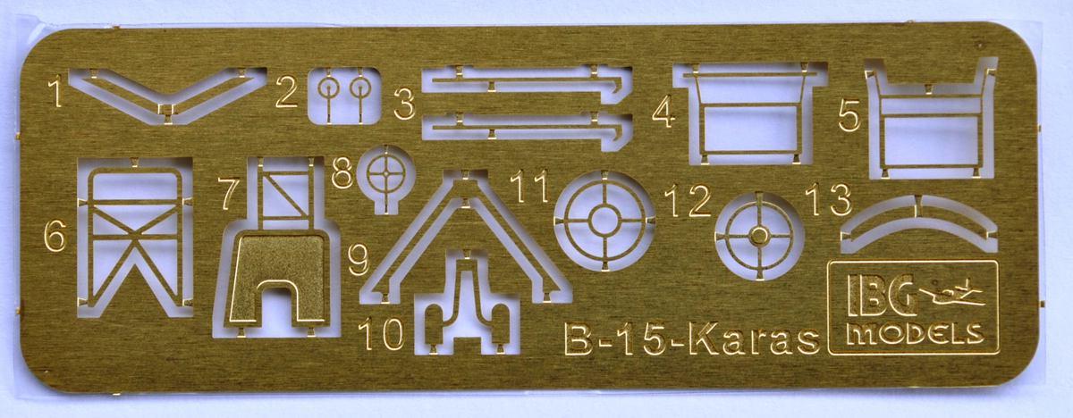 IBG-72505-PZL-P-23A-Karas-33 PZL P.23 Karas im Maßstab 1:72 von IBG # 72505