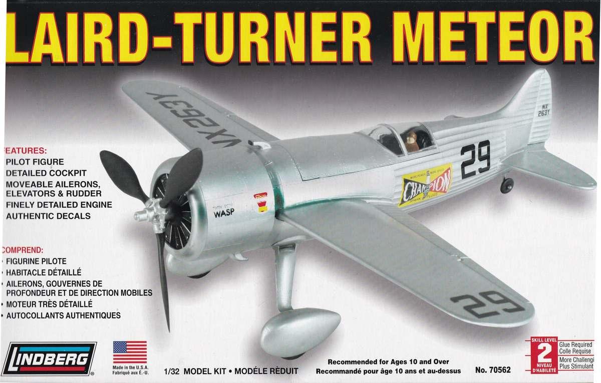 Lindberg-70562-Laird-Turner-Meteor-20 Kit-Archäologie: Der Laird-Turner Meteor Racer von Lindberg in 1:48 (# 70562)