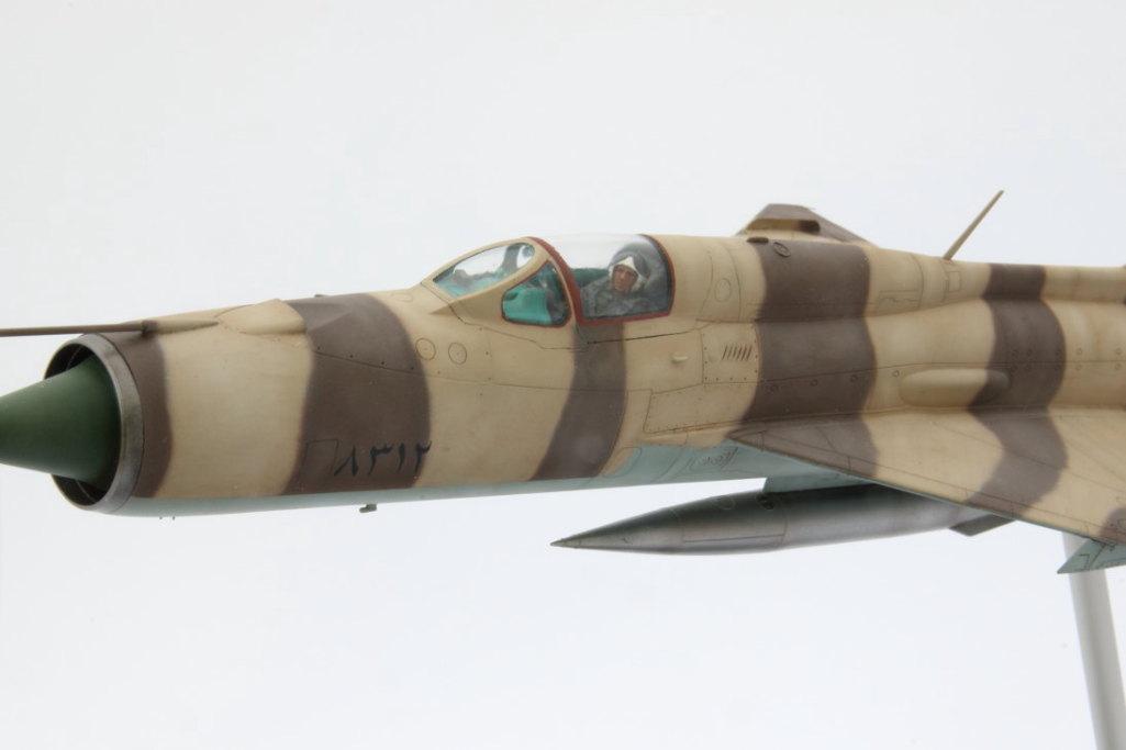 MiG-21PFM__fertig_011 Galerie-Beitrag MiG-21 PFM  -  Eduard 1/48