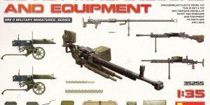 Soviet Machineguns and equipment von von MiniArt ( # 35255 )