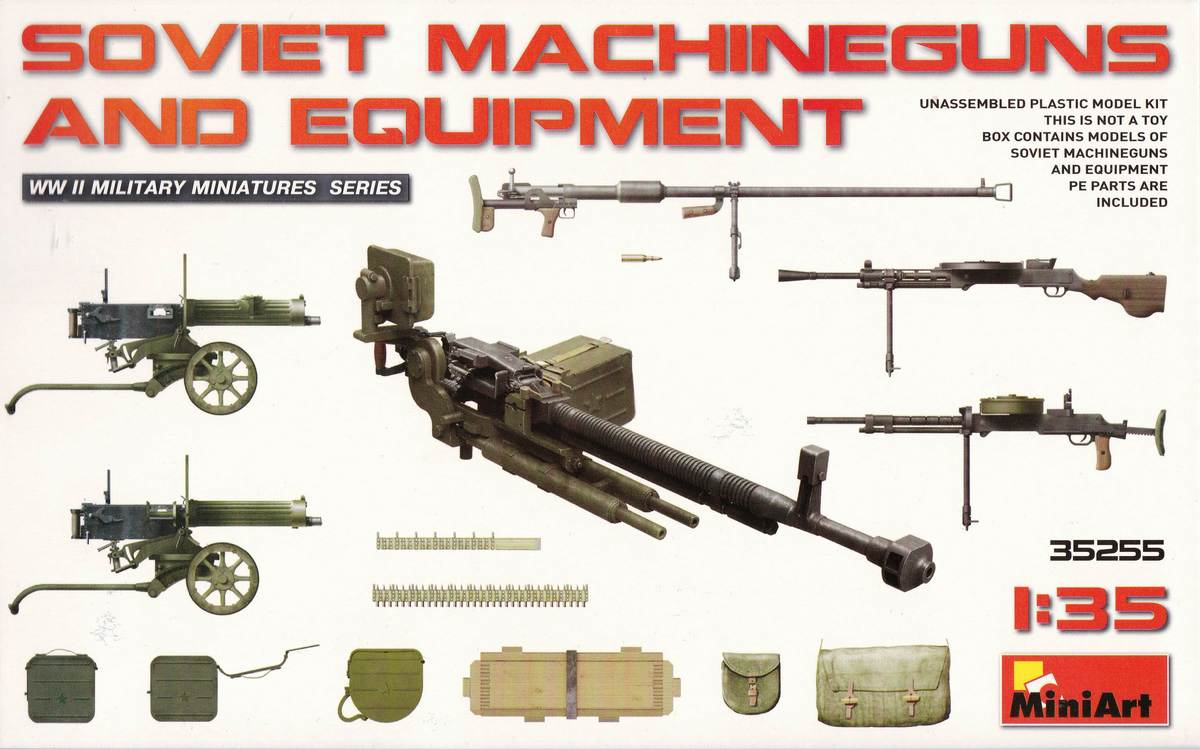 MiniArt-35255-Soviet-Machineguns-and-equipment-21 Soviet Machineguns and equipment von von MiniArt ( # 35255 )