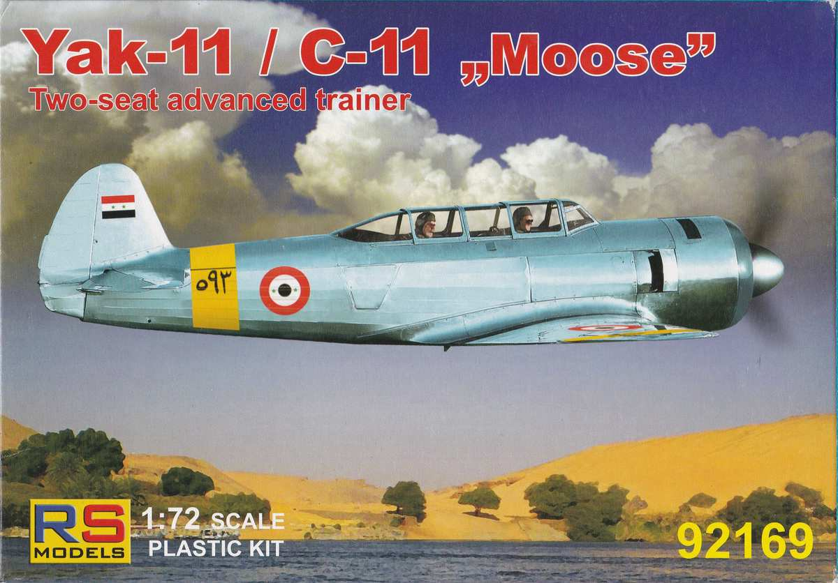 RS-Models-92169-Jak-11-23 Jak-11 / C-11 von RS Models in 1:72  (# 96169)