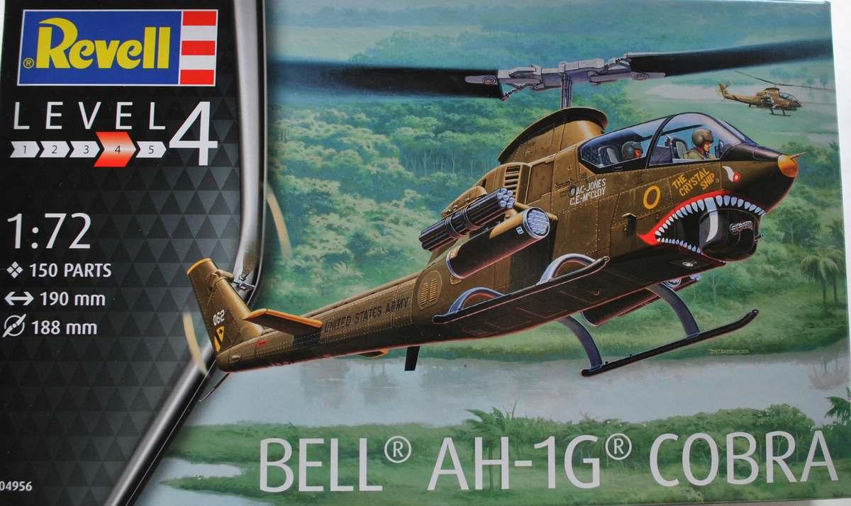 Revell-04956-Bell-AH-1G-Cobra-14 Bell AH-1G Cobra von Revell 1:72 ( # 04956 )