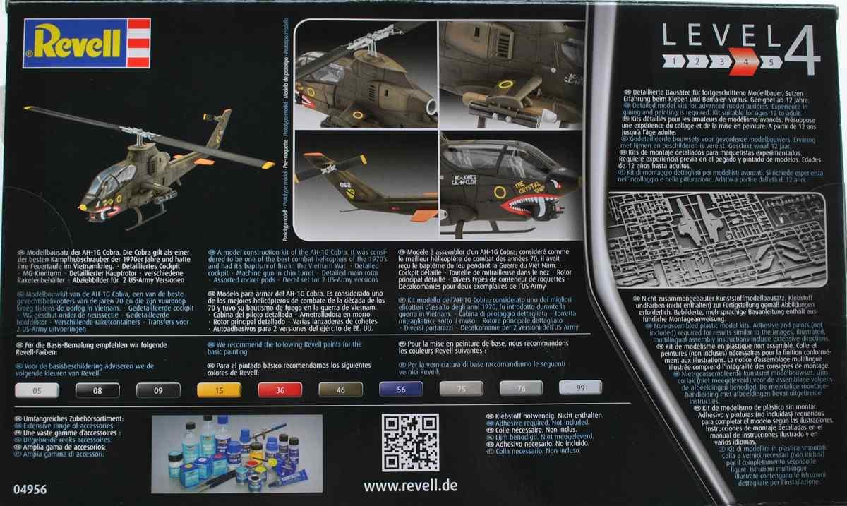 Revell-04956-Bell-AH-1G-Cobra-15 Bell AH-1G Cobra von Revell 1:72 ( # 04956 )