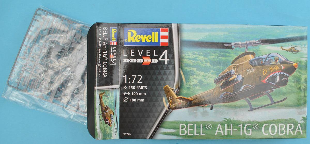 Revell-04956-Bell-AH-1G-Cobra-16 Bell AH-1G Cobra von Revell 1:72 ( # 04956 )