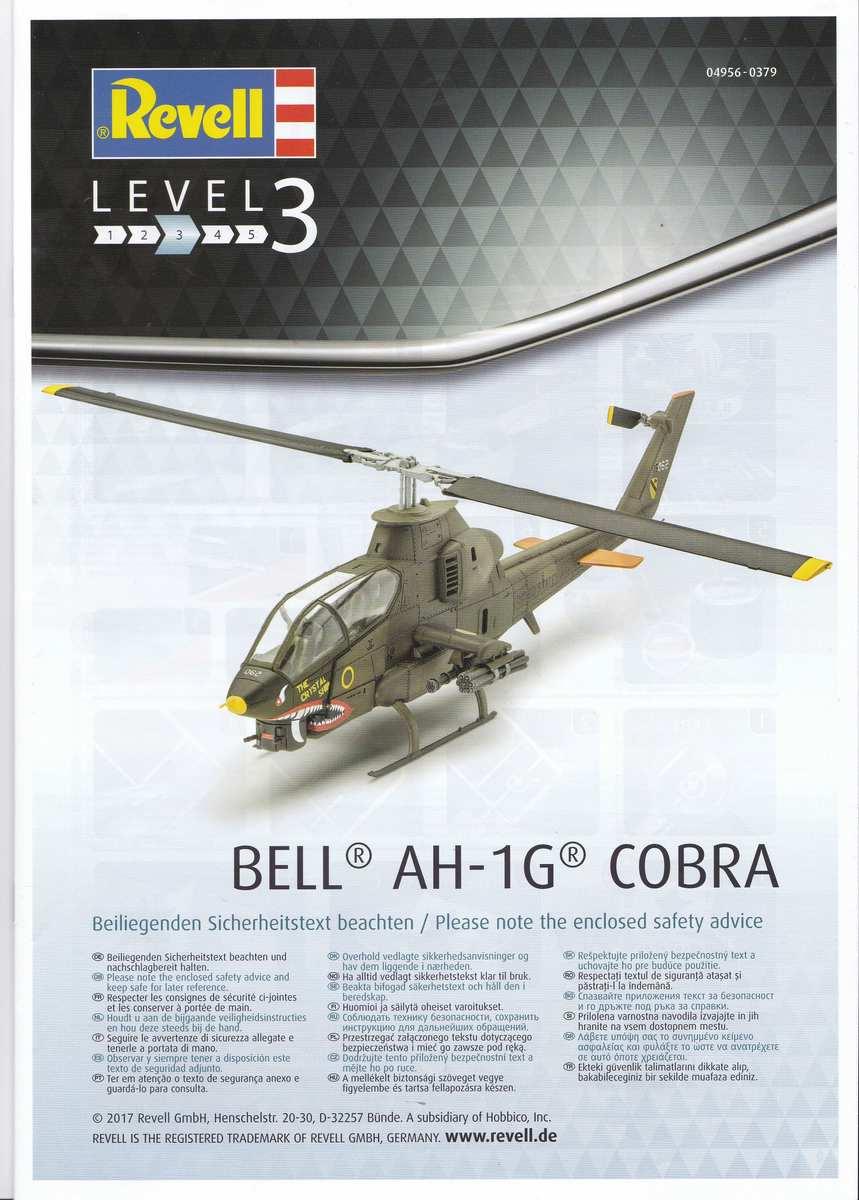Revell-04956-Bell-AH-1G-Cobra-57 Bell AH-1G Cobra von Revell 1:72 ( # 04956 )