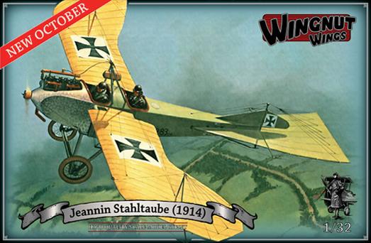 WingNutWings-Stahltaube Jeannin Stahltaube von WingNutWings!