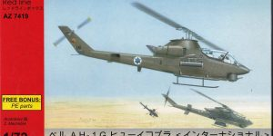 AH-1G Cobra International von AZ Model in 1:72 (AZ 7419 )
