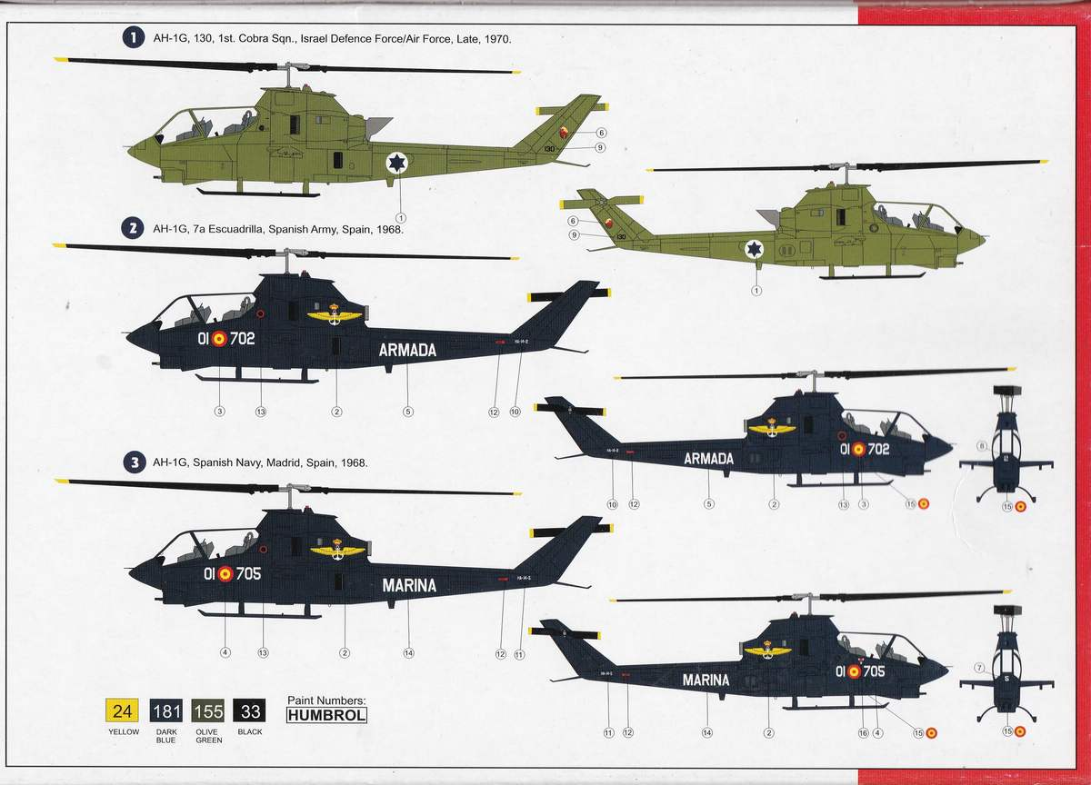 AZ-model-7419-AH-1G-Cobra-International-5 AH-1G Cobra International von AZ Model in 1:72 (AZ 7419 )
