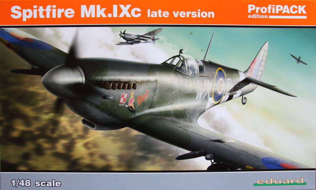 Eduard_Spit_IXe_Profi2017_01 Spitfire Mk.IXe - Eduard Profipack 1/48 (Re-Editon)