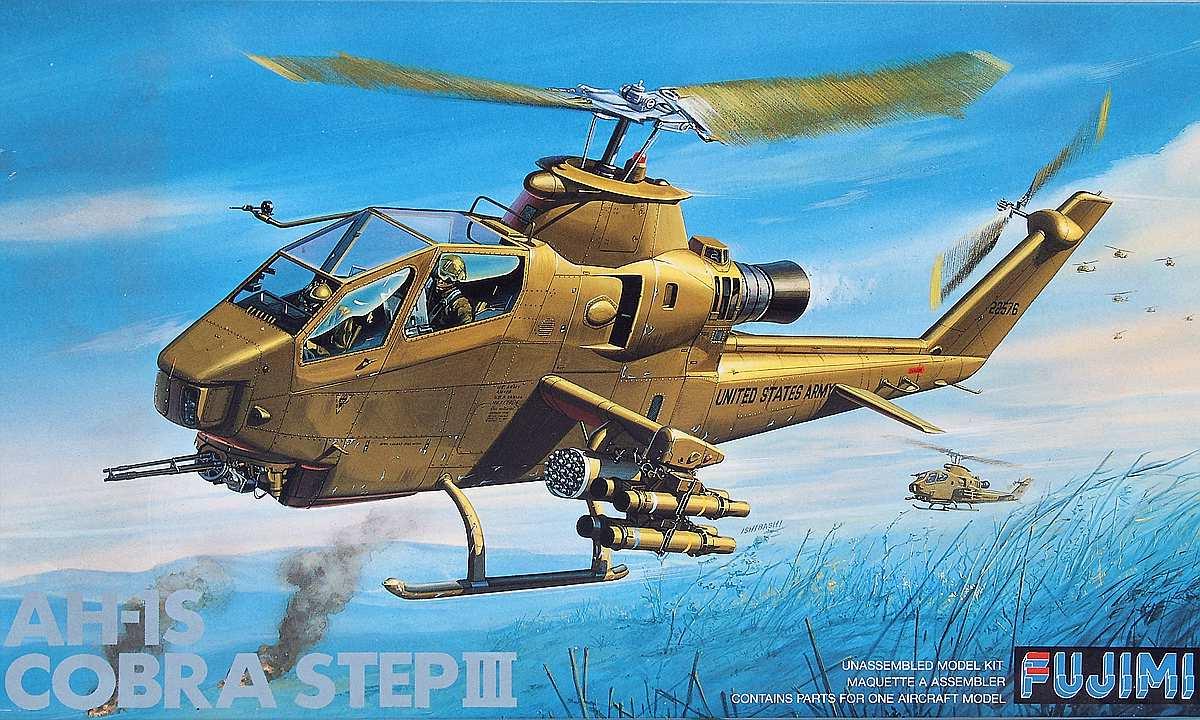 Fujimi-P-16-AH-1S-Cobra-1 Bell AH-1S Cobra von Fujimi in 1:72