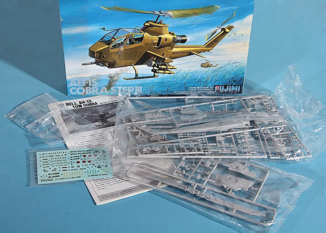 Fujimi-P-16-AH-1S-Cobra-2 Bell AH-1S Cobra von Fujimi in 1:72