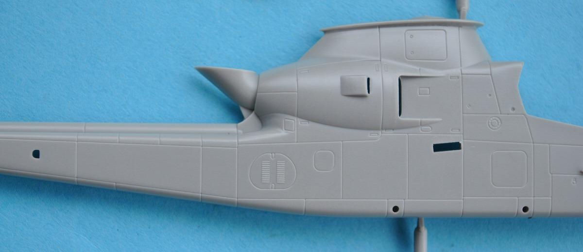 HobbyBoss-87224-AH-1F-Cobra-25 AH-1F Cobra von HobbyBoss in 1:72 ( 87224 )