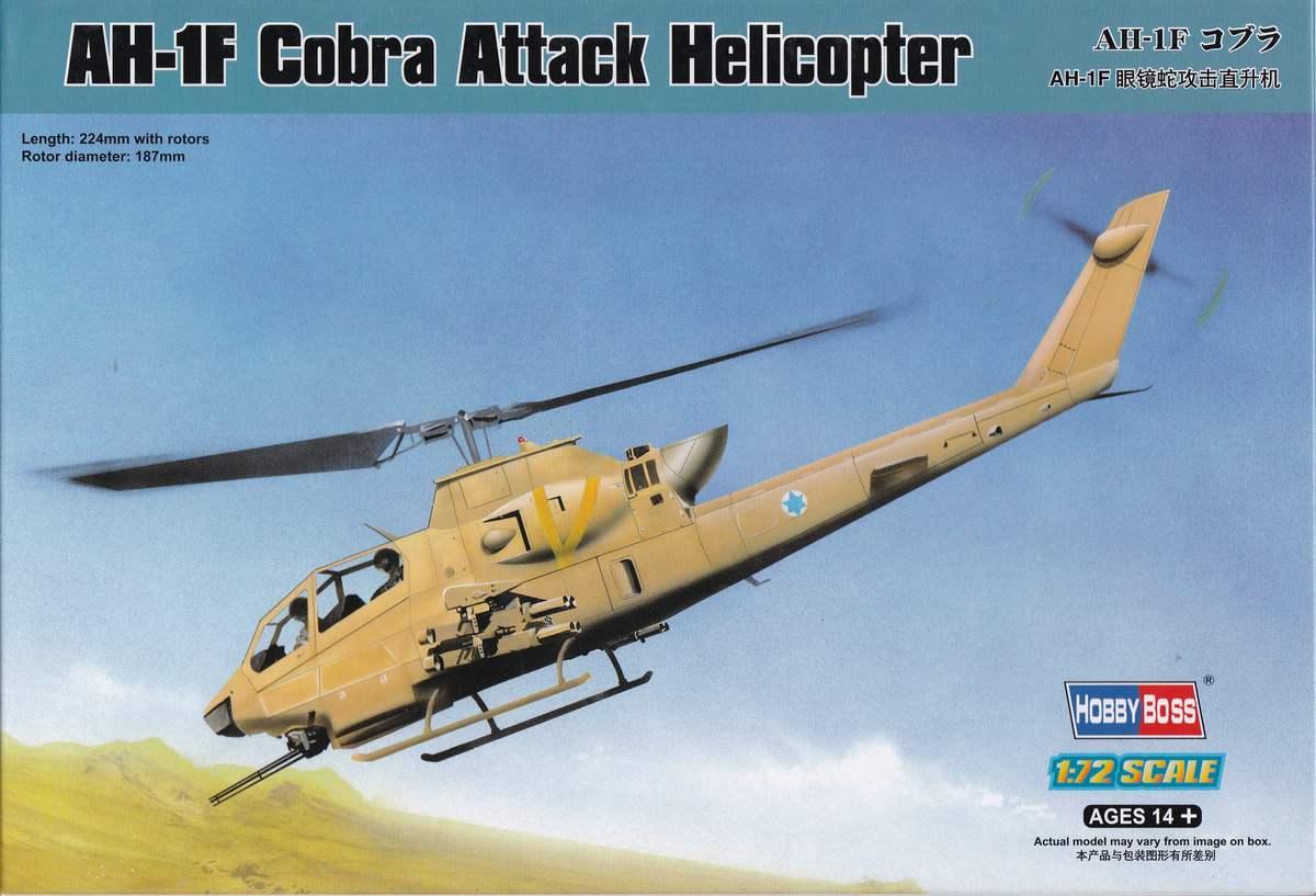 HobbyBoss-87224-AH-1F-Cobra-9 AH-1F Cobra von HobbyBoss in 1:72 ( 87224 )