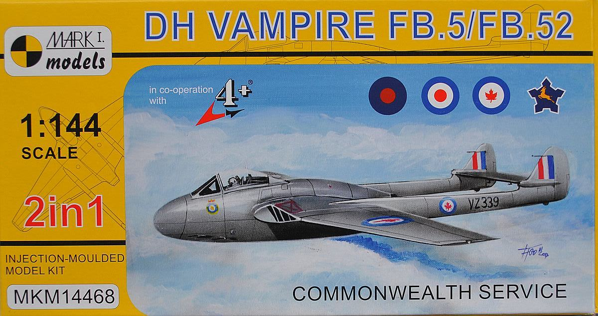MKM-14468-Vampire-Commonwealth-service-23 deHavilland Vampire in Commonwealth Service (Mark One 1:144)