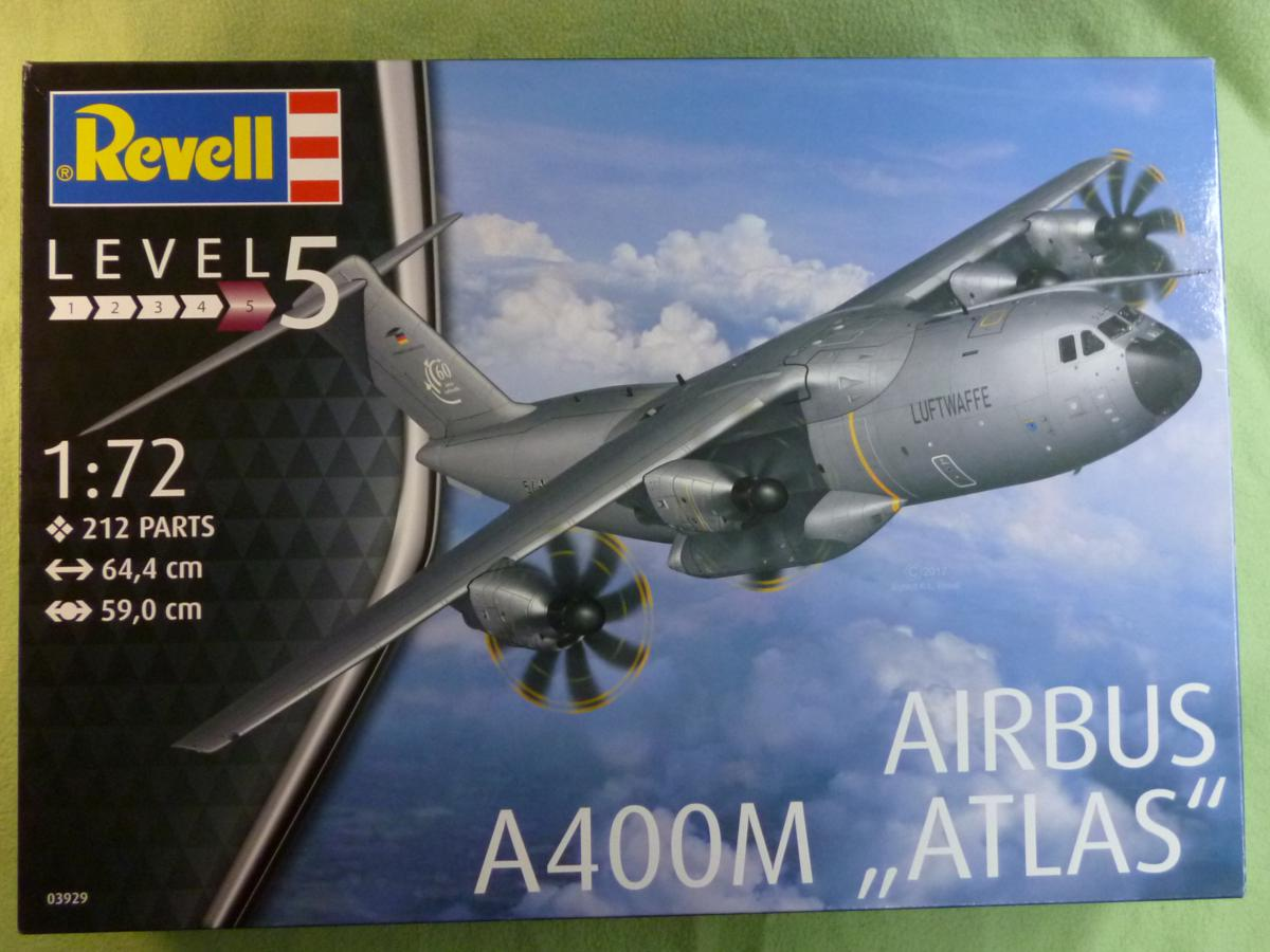 Revell-03929-A400M-Deckelbild A400M von Revell in 1:72 ( # 03929 )