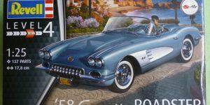 `58 Corvette Roadster im Maßstab 1:25 von Revell (# 07037 )