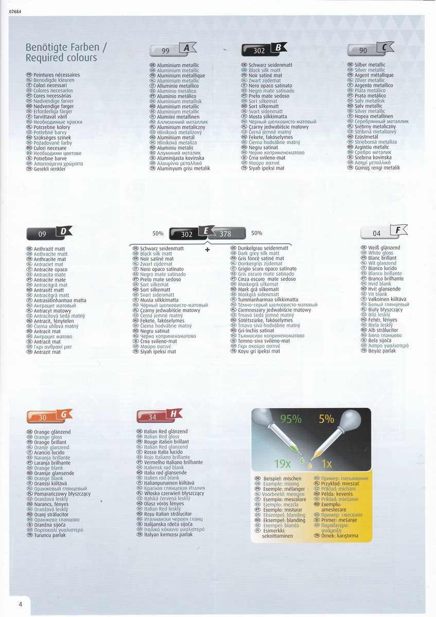 Revell-07684-Corvette-C3-1zu32-19 Corvette C3 im Maßstab 1:32 von Revell ( # 07684)