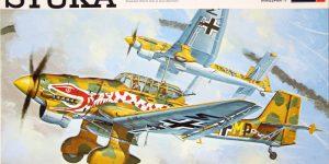 Kit-Archäologie: Die Stuka Junkers Ju-87B von Revell – 1/32 – 1969