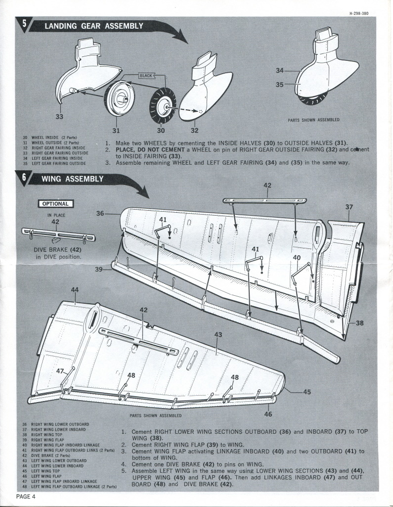 Revell_Stuka_26 Kit-Archäologie: Die Stuka Junkers Ju-87B von Revell - 1/32 - 1969