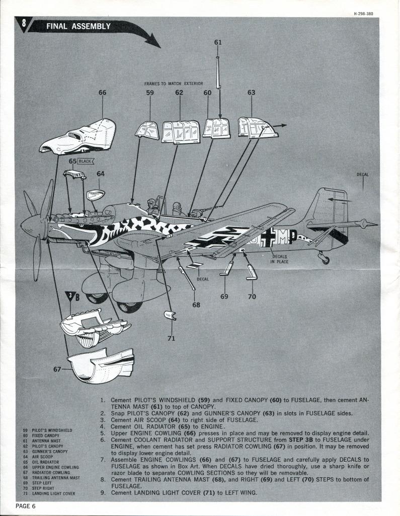 Revell_Stuka_27 Kit-Archäologie: Die Stuka Junkers Ju-87B von Revell - 1/32 - 1969