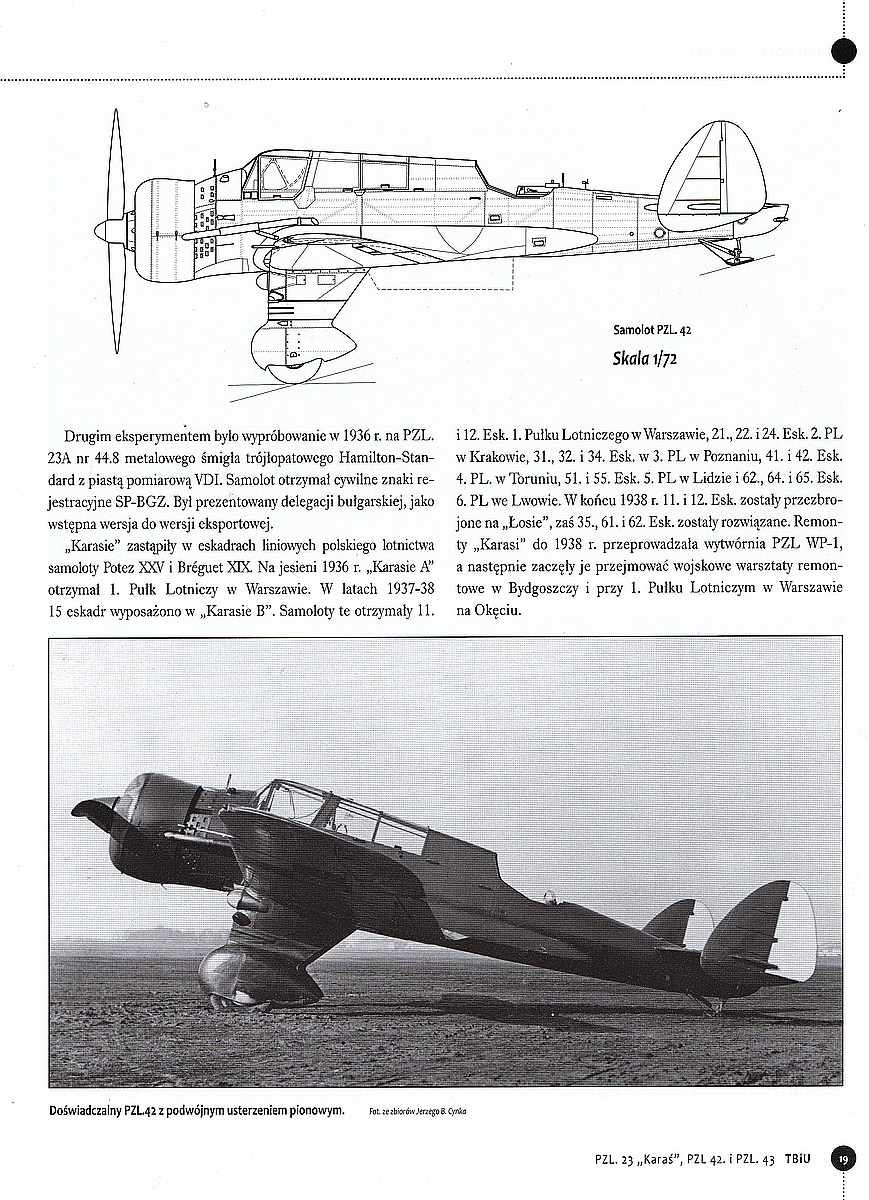 Stratus-PZL-P.23-Karas-heft-5 Literatur zur PZL P.23 Karas