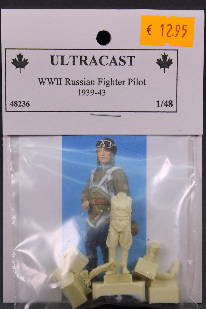 Ultracast_Russian_Fighter_Pilot_08 WWII Russian Fighter Pilot - Ultracast 1/48