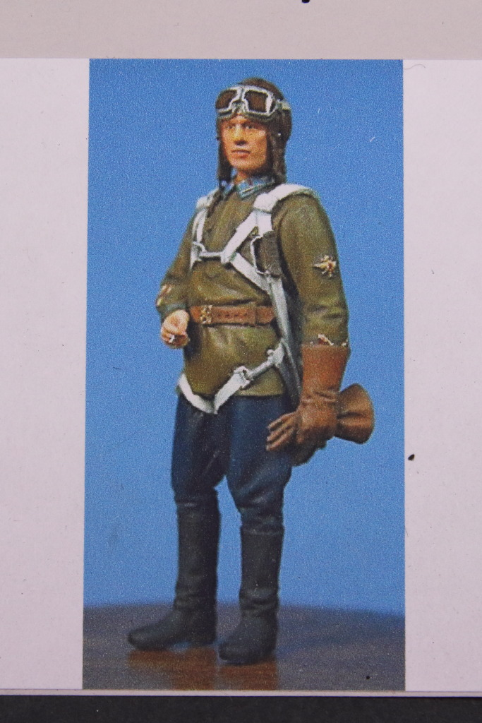 Ultracast_Russian_Fighter_Pilot_09 WWII Russian Fighter Pilot - Ultracast 1/48