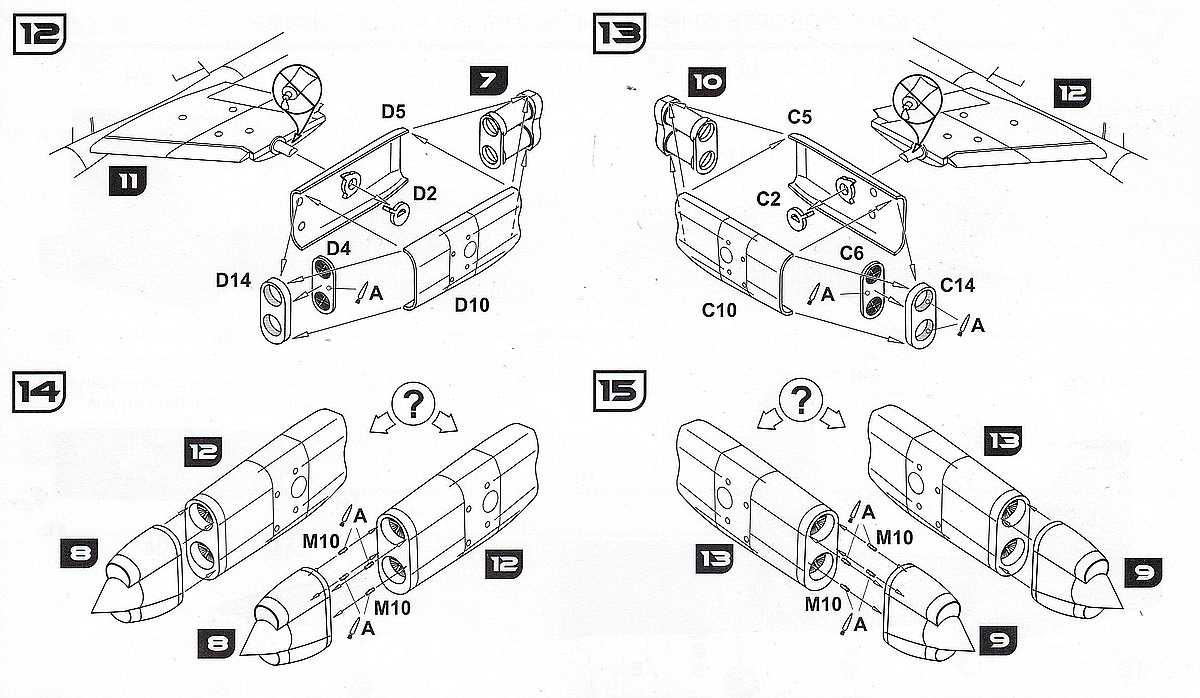 AA-Models-7202-VJ101C-X2-Triebwerke Senkrechtstarter VJ 101C-X2 in 1:72 von A&A Models  Art.Nr. 7202