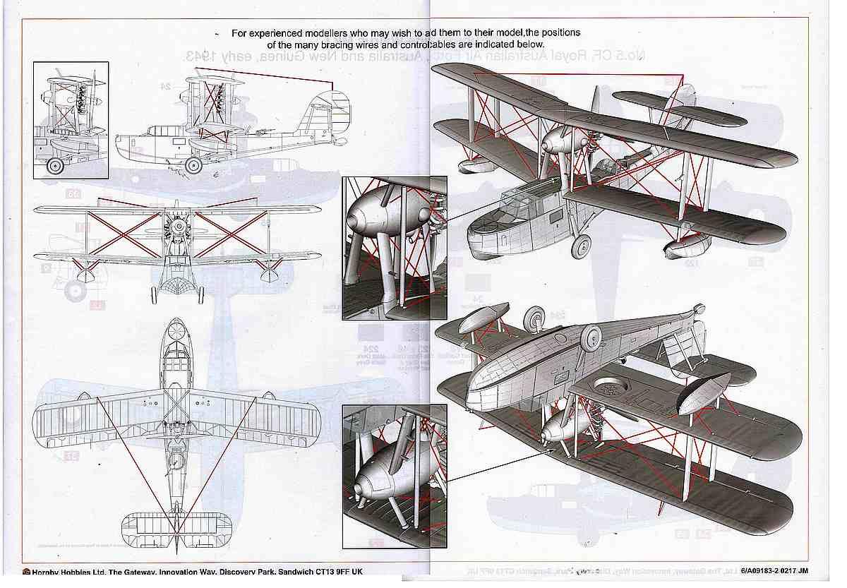 Airfix-A-09138Supermarine-Walrus-Mk-I-87 Supermarine Walrus Mk. I von Airfix in 1:48 ( A09183 )
