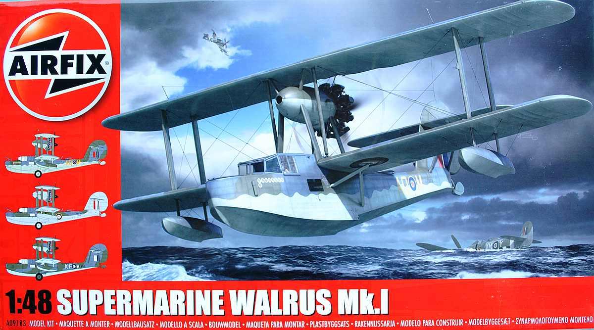 Airfix-A-09138Supermarine-Walrus-Mk-I-88 Supermarine Walrus Mk. I von Airfix in 1:48 ( A09183 )