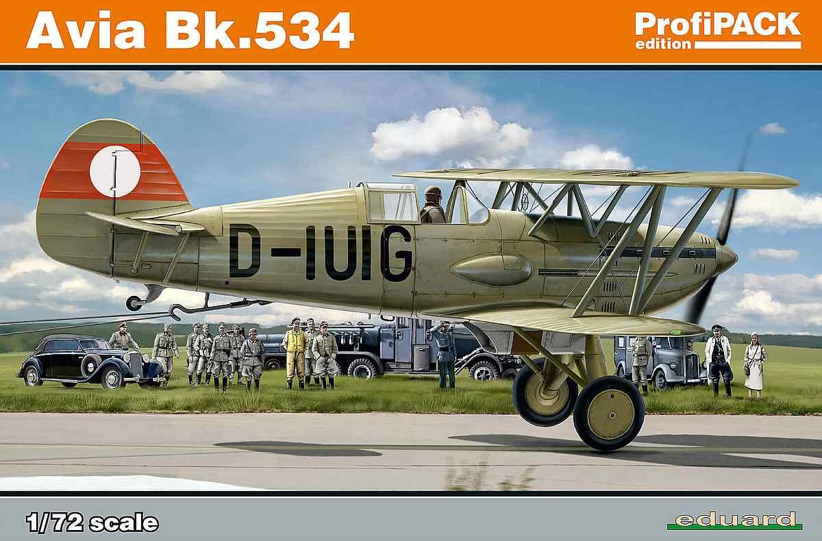 Eduard-70105-Avia-Bk.534-Luftwaffe-47 Avia Bk.534 von Eduard ( # 70105 )