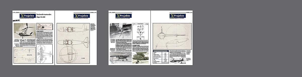 FliegerRevueX-67-Fa269 Neu im Zeitschriftenregal - die FliegerRevueX Nr. 67