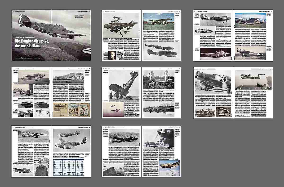 FliegerRevueX-67-Italien-Bomber Neu im Zeitschriftenregal - die FliegerRevueX Nr. 67
