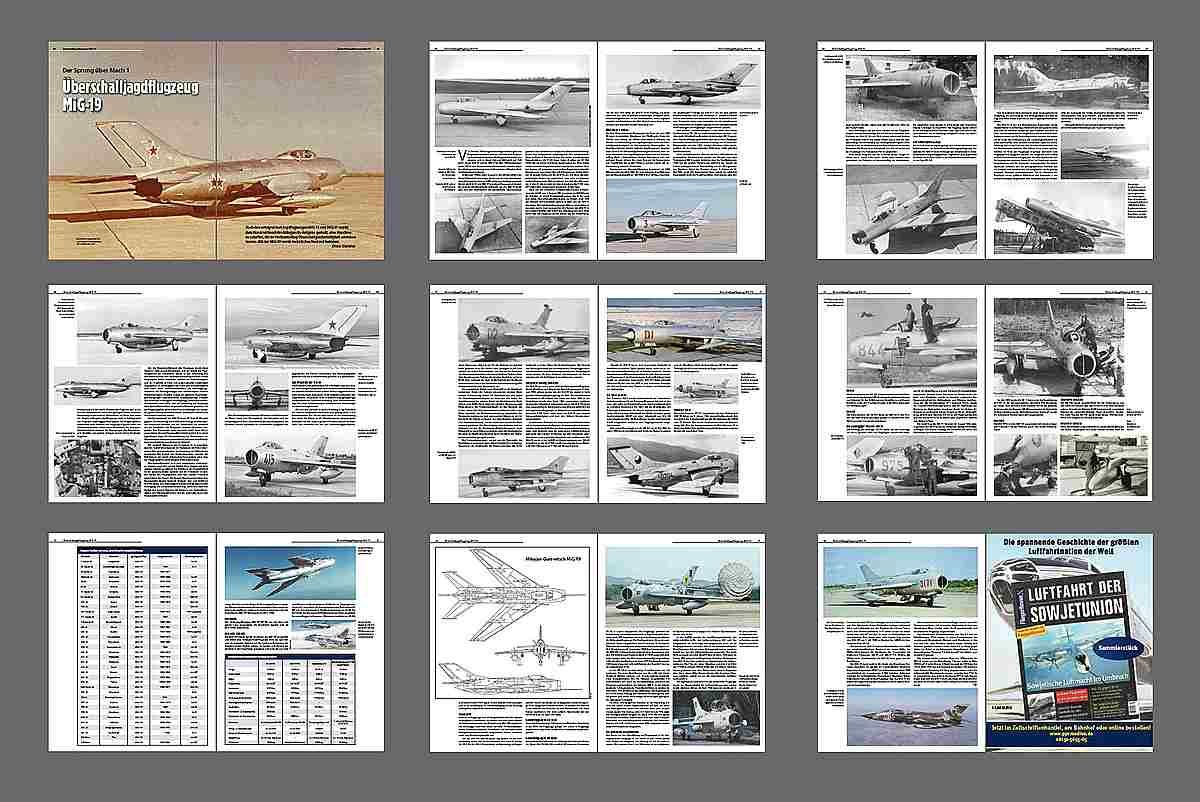 FliegerRevueX-67-MiG-19 Neu im Zeitschriftenregal - die FliegerRevueX Nr. 67
