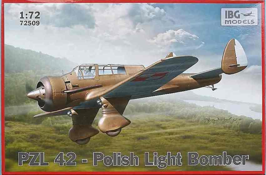 IBG-72509-PZL-P-9-Kopie PZL P.42 in 1:72 von IBG (# 72509)
